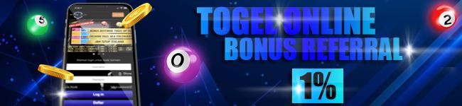 bonus referral togel terbesar